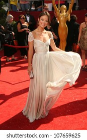 Olivia Wilde  at the 60th Annual Primetime Emmy Awards Red Carpet. Nokia Theater, Los Angeles, CA. 9-21-08