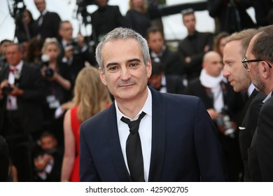 Olivier Assayas attends the Closing Ceremony of the 69th annual Cannes Film Festival at the Palais des Festivals on May 22, 2016 in Cannes, France.