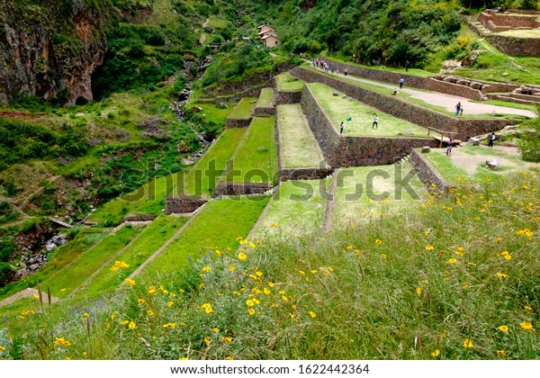 Ollantaytambo a stop before Machu Picchu