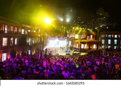 Olmue, Region Metropolitana/ Chile;January 23 2014: Olmué Festival