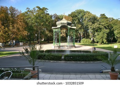 The Olomouc City Park with restaurant benches, flower beds with chestnut trees and musical gazebo is a relaxation zone.