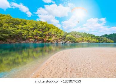 Oludeniz Beach And Blue Lagoon, Best beaches in Fethiye, Turkey
