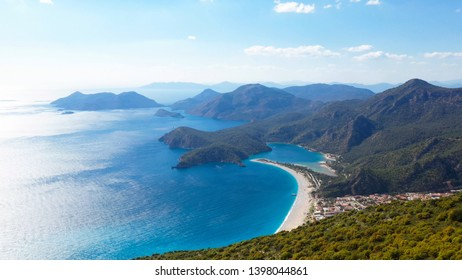 Oludeniz is a resort village on the southwest coast of Turkey. It's known for the blue lagoon of Oludeniz Tabiat Parki and the wide, white Belcekiz Beach.