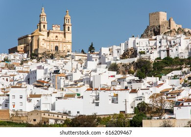 Olvera in Cadiz province, Spain