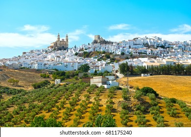 Olvera, village located in the Sierra de Grazalema, Cadiz province, Andalusia. Spain.
