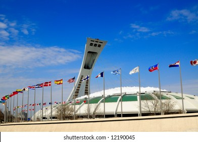 Olympic Stadium of Montreal, Quebec. Host of the 1976 Olympics.