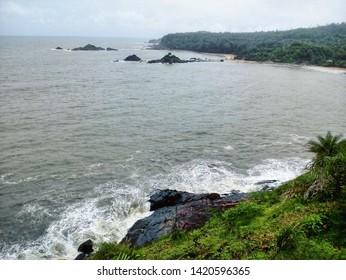 Om beach in Gokarna India