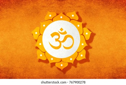 OM SYMBOL BACKGROUND