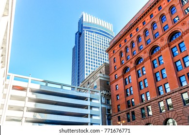 Omaha downtown buildings