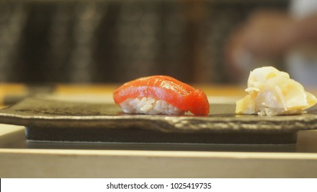 Omakase Japanese food traditions.