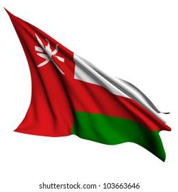 Oman flag - collection no_4