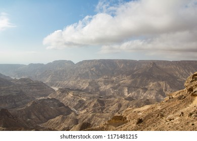 Oman Roadtrip: Steep rocky gorges in the Dhofar mountains
