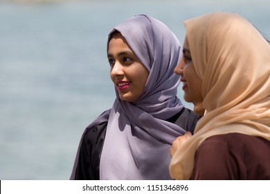 Oman women. 20th April 2017. Muscat city, Oman, Asia.