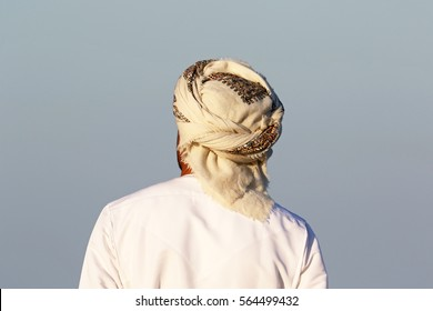 Omani with Turban from behind