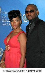 Omar Epps and wife Keisha at the 40th NAACP Image Awards. Shrine Auditorium, Los Angeles, CA. 02-12-09