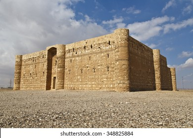 Omayyad palace in the Jordanian desert