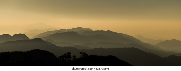 1ae9a7213458 ombre Shades mountains at Sunrise