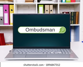 Ombudsman inscription on the page.