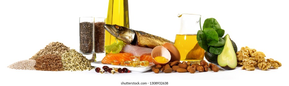 Omega 3 and Fish Panorama - Healthy Nutrition