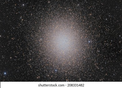 Omega Centauri is the largest globular cluster in the sky