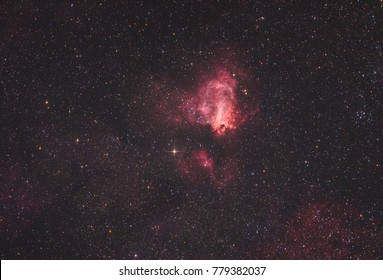 The Omega Nebula, also known as The Swan Nebula or Messier 17