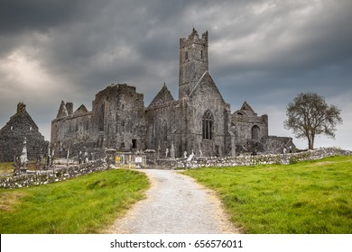 Ominous Clouds Looming Over The Abbey