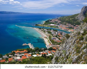 Omis Town Dalmatia Region of Croatia