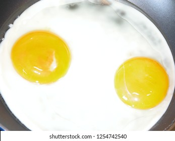 Omlette with two egs