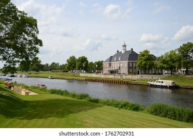 Ommen in the Netherlands water view