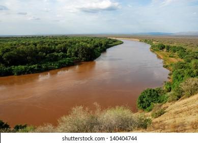 Omo river valley, Ethiopia