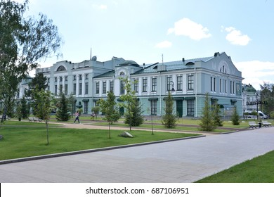 Omsk, Russia - jule 24, 2017: Theater of painting