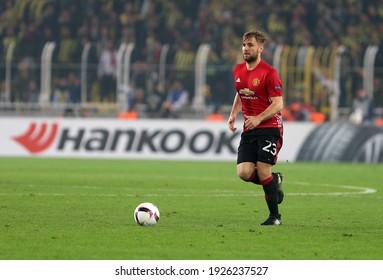 On 03 November 2016, Fenerbahçe Football team defeated Manchester United FC Team 2-1 in the Uefa European League at Istanbul Şükrü Saracoğlu Stadium. Luke shaw