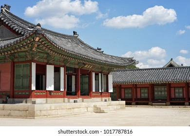 On 18 September 2016 at Gyeongbokgung Palace located in Seoul, Korea that was the main royal palace and the largest of the five grand palaces built by the Joseon dynasty.