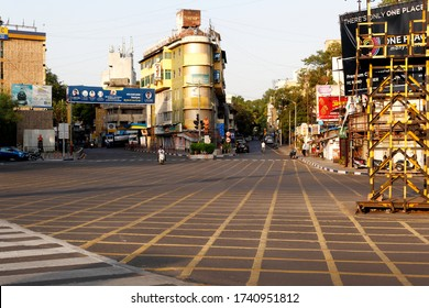 On 25th May 2020 Laxmi Road in Pune India. Due to corona virus epidemic Pune city is under lock-down as a precautionary measure.