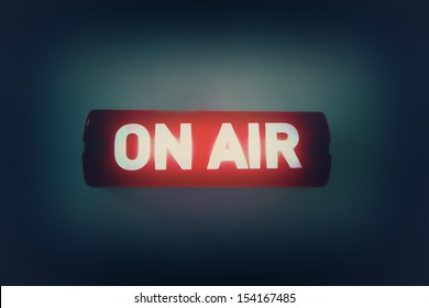 """""""ON AIR"""" broadcast message"""