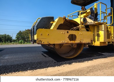 on asphalt asphalt rider there an asphalt roller to keep everything well pressed