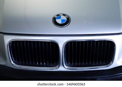 On August 4, 2019, in Thailand, Buriram province has organized shows, sports cars and classic cars in the past there are many cars like BMW with a beautiful look a rare car bmw classic asian thailand