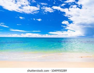 On a Beach Heavenly Blue