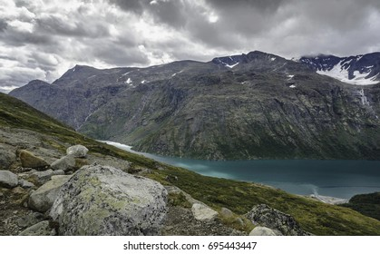 On the Besseggen Trail in Norway
