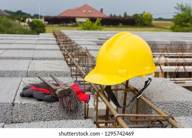 on the building site