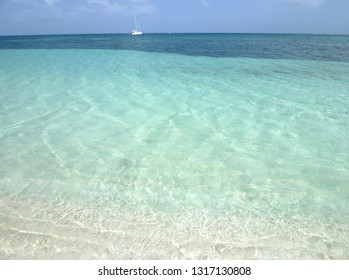 on Caret Island Guadeloupe France Caribbean August