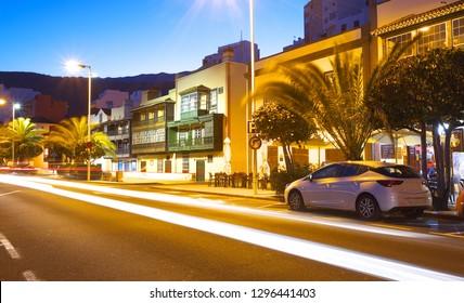 On the coastal avenue in Santa Cruz de La Palma, Canary Islands