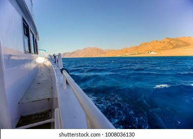 On Deck from Dahab - Egypt
