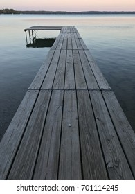 On the Dock in Traverse City