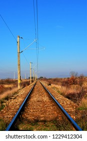 on an electrified railway