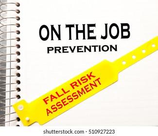 On the job fall risk assessment