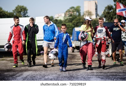 On July 26 - 27, 2017, in Ukraine, Ternopil, there were competitions for children's, junior and adult racing, namely the Cup of LLC Lan Company, where about 20 teams from western Ukraine participated.