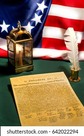 On July fourth, 1776, the Declaration of Independence was signed, proclaiming our freedom from British Rule.