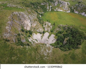 On the Kupres Polje (Kupreško polje) within Dinaric karst of western Bosnia and Herzegovina is a group of collapse sinkholes (collapse dolines) which are known as Japage.