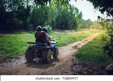 On the morning of many people, driving an ATV and rushing along rough paths is another challenging and enticing activity.